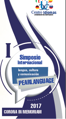 I Simposio Internacional PEARLANGUAGE-2017